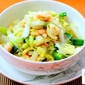 Stir Fried Chinese Cabbage With Prawns
