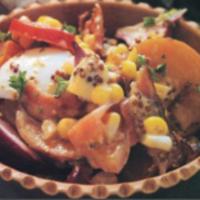Two-Potato Salad With Bacon And Corn