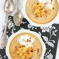 Honey Baked Custard with Caramelized Apples