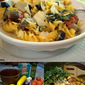 Easy Roasted Vegetables with Quinoa Pasta in a Lemony Sauce