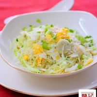 Fish Ball & Cabbage Fried Rice