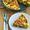 Recipe for Three Cheese Zucchini Frittata with Mozzarella, Feta, and Parmesan