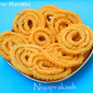 Butter Murukku / Chakali (2nd recipe)