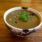 Black Bean Raisin Soup
