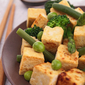 Sautéed Tofu with Green Veggies