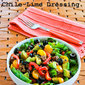 Recipe for Baby Kale Paleo Taco Salad with Chile-Lime Dressing