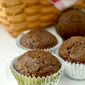 Healthier Double Chocolate Zucchini Muffins
