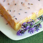 French Almond Cake with Lavender Lemon Glaze {Appreciation Post}