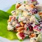 Chicken Waldorf Salad With Chives