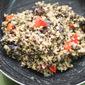 [VeganMoFo 2013] Brown Rice and Black Lentil Bagel Burgers Recipe
