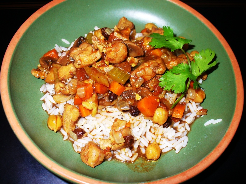 Casablanca Curried Chicken (Tagine)