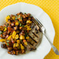 Grilled Pork Chops with Roasted Sweet Potato Salsa