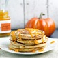 Pumpkin Swirl Pancakes with Pumpkin Butter Topping