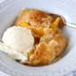 Easy Homemade Peach Cobbler (and Exercise Tips for the Exercise-Haters)
