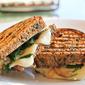 Kale, Garlic and Caramelized Onion Paninis