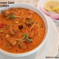 Mushroom Corn Curry | An easy version of the Restaurant style Mushroom Corn Curry