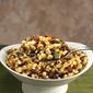 Corn, Mushroom and Leek Sauté