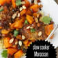 Slow Cooker Moroccan Chicken Thighs {easy weeknight meal}