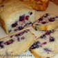 Blueberries and Cream Bread