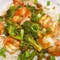 Shrimp and Broccoli with Black Bean Sauce