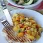 Grilled Chicken and Peach Mango Salsa
