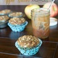 Whole Wheat Apple Butter Muffins