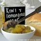 Kiwi And Lemongrass Jam Recipe