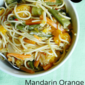 Mandarin Orange Vegetable Stir-Fry