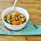 Roasted Chickpea and Vegetable Salad