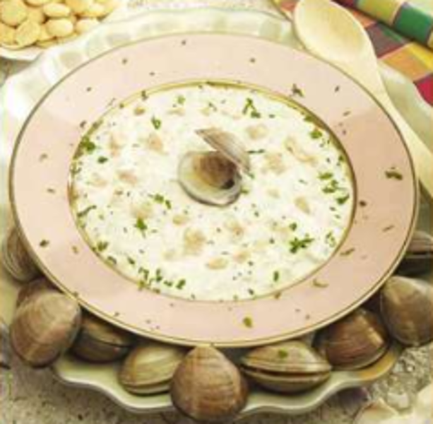 Slow Cooker Chunky Vegetable Clam Chowder