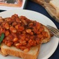 Beans on Toast {from scratch} inspired by TOAST for food 'n flix