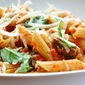Penne with Tomato-Mushroom Sauce