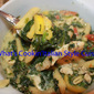 Artichoke, Spinach, Squash and Chicken Pasta Recipe