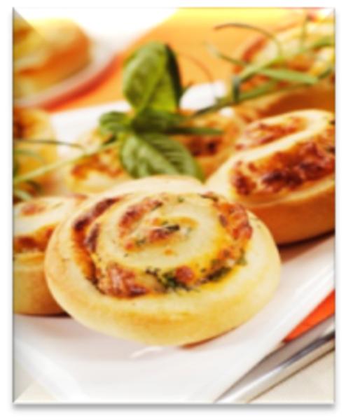Pinwheels with a Crunchy Twist