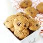 Healthy Pumpkin Chocolate Chip Cookies {Vegan}