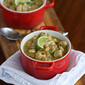 Chipotle White Chicken Chili Recipe with Corn & White Beans {Gluten-Free}