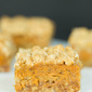 Pumpkin Pie Oatmeal Crumb Bars
