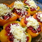 Roasted vegetable stuffed Bell Peppers
