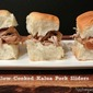 Slow Cooked Kalua Pork Sliders