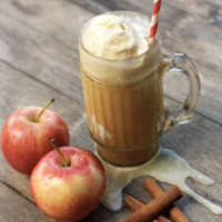 Fall Spiked Cider Float