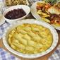 Roasted Garlic and Lemon Duchess Potatoes