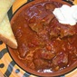 Texas-Style Chili with Dried-Chile Broth