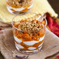Healthy Spiced Pumpkin, Yogurt & Granola Parfait Recipe