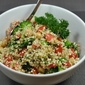 Quinoa Salad with Broccoli and Chickpeas