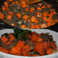 Ground Beef and Sweet Potato Hash from Harvest Your Health