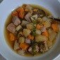 Pork Shoulder and Root Vegetable Stew