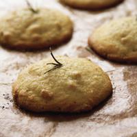 Italian Cookies with Orange, Rosemary and Polenta