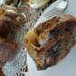 caramelized APPLE chocolate nuts coffee cake