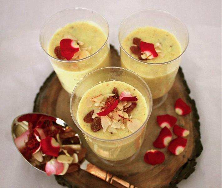Makhane Ki Phirni - Lotus Seeds Milk Pudding