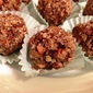 Bourbon Truffles Rolled in Pecans